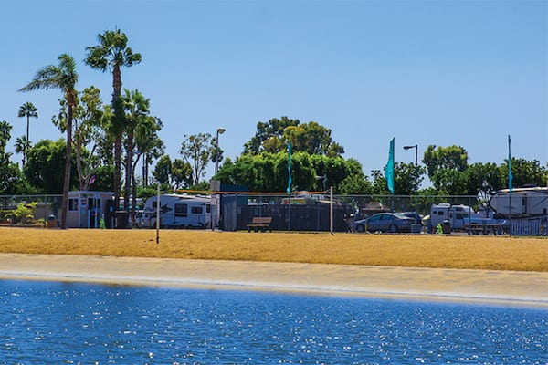 waterfront camping-mission bay rv resort