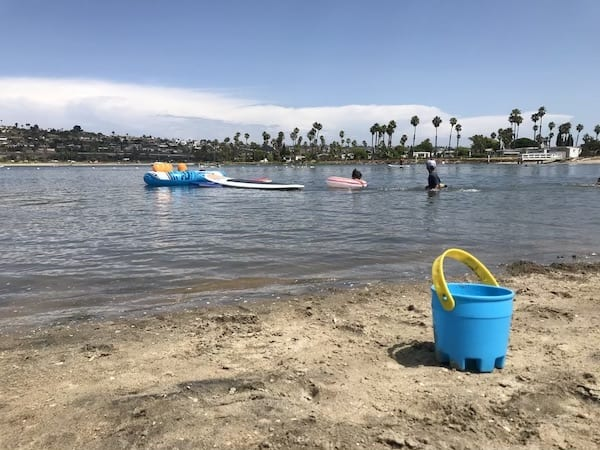 mission bay rv resort - de anza cove beach