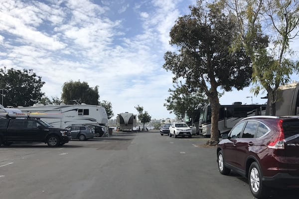 Mission Bay RV Resort-Premium Site