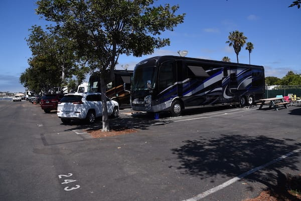 San Diego rv resort and rv camping