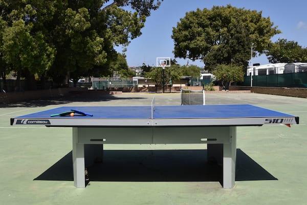 ping pong at mission bay rv resort